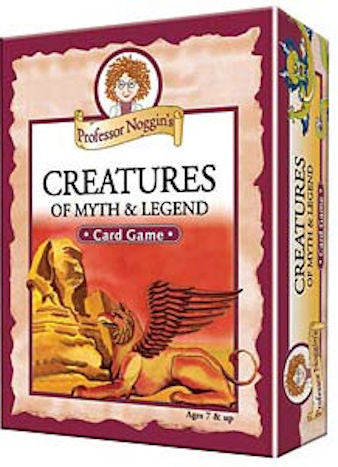 Creatures of Myth and Legend Professor Noggin's Card Game - EducationalLearningGames.com
