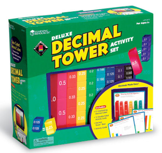 Decimal Tower Activity Set