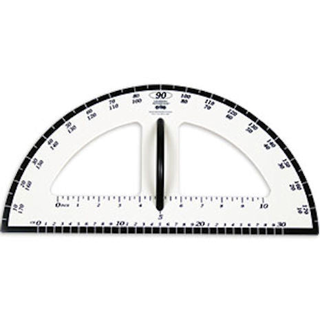 Demonstration Protractor, Magnetic - EducationalLearningGames.com
