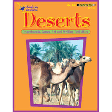 Deserts Hands-On Science Activity Book EducationalLearningGames.com