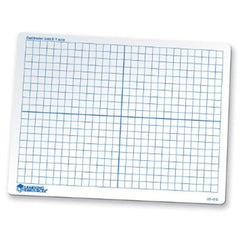 Double-Sided Dry-Erase Coordinate Grid Board - EducationalLearningGames.com