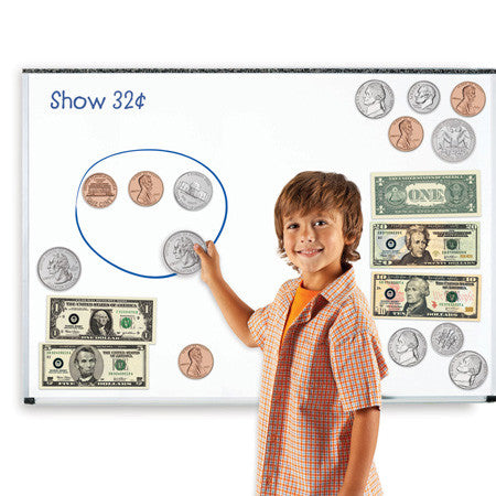 Double-Sided Magnetic Money - EducationalLearningGames.com