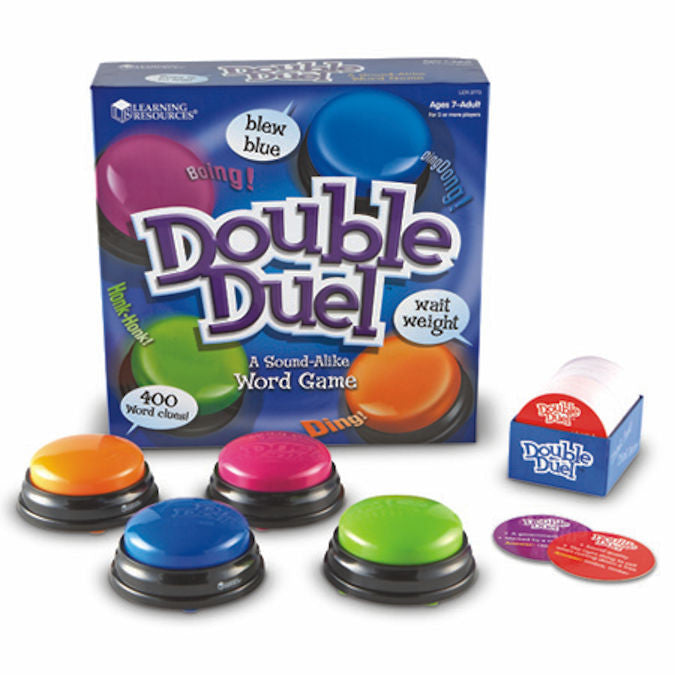 Double Duel A Sound-Alike Word Game