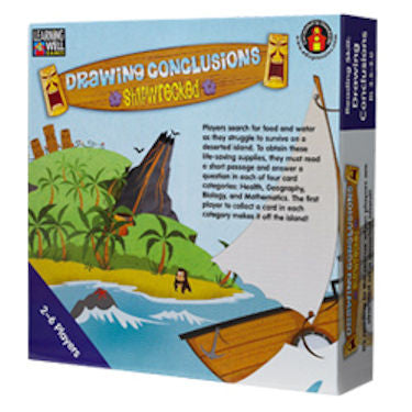 Drawing Conclusions Shipwrecked Game, Blue Level - EducationalLearningGames.com