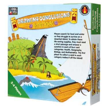 Drawing Conclusions Shipwrecked Game, Green Level EducationalLearningGames.com
