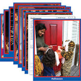 Early Learning Photo Activity Cards, Celebrations - EducationalLearningGames.com