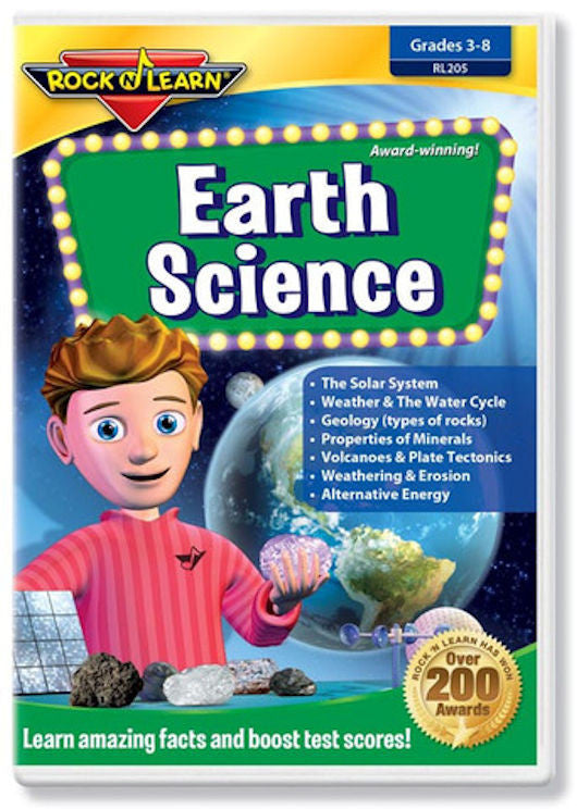 Earth Science DVD - EducationalLearningGames.com