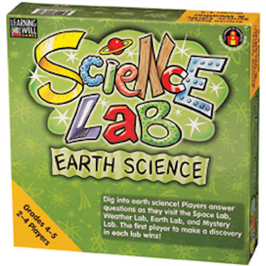 Earth Science Game Science Lab, Grades 4 - 5 - EducationalLearningGames.com