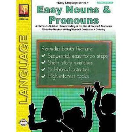 Easy Language Series Easy Nouns and Pronouns - EducationalLearningGames.com