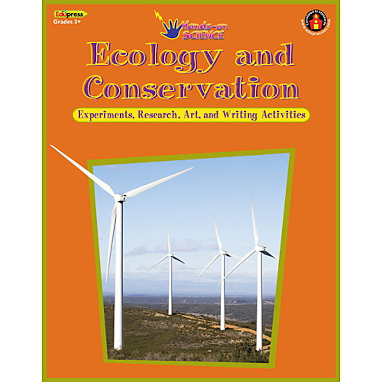 Ecology and Conservation Hands-On Science Activity Book EducationalLearningGames.com