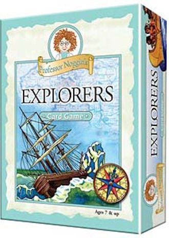Explorers Professor Noggin's Card Game - EducationalLearningGames.com