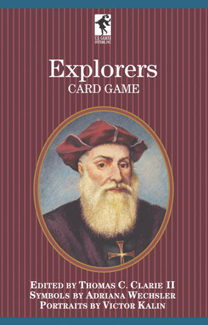Explorers of the World Playing Card Game - EducationalLearningGames.com