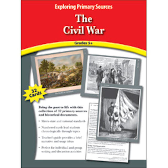 Exploring Primary Sources, The Civil War