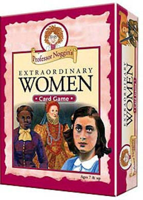 Extraordinary Women Professor Noggin's Card Game - EducationalLearningGames.com
