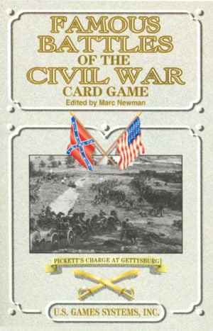 Famous Battles of the Civil War Card Game - EducationalLearningGames.com