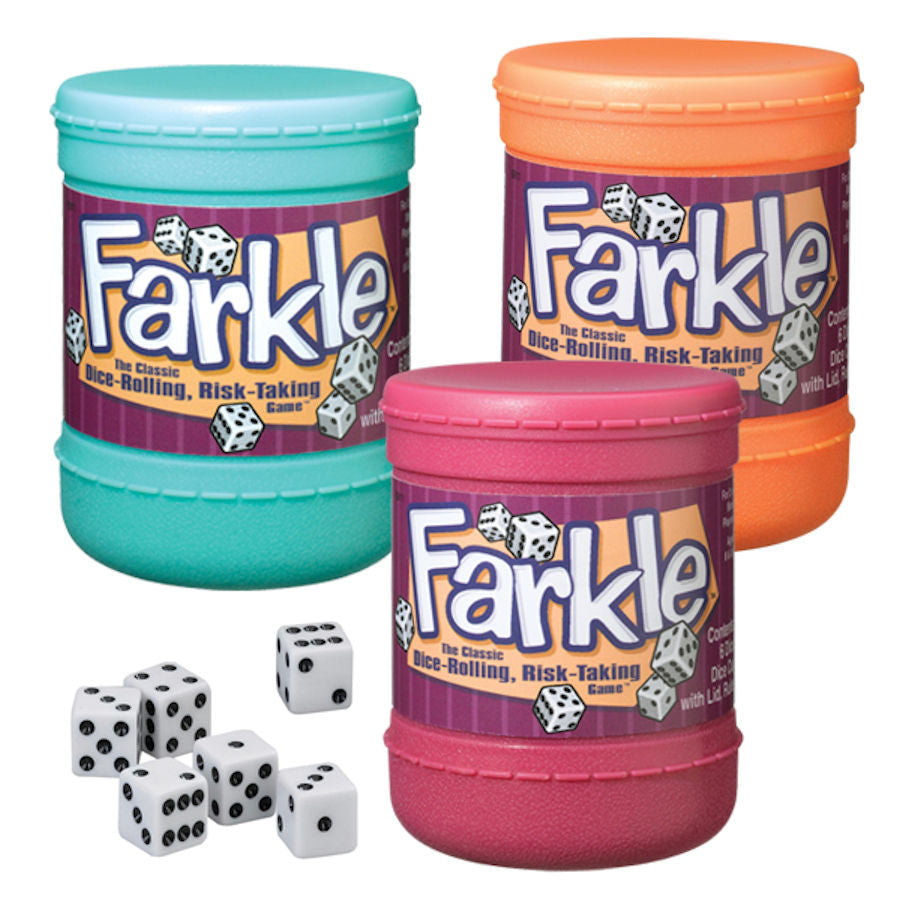 Farkle Dice Cup EducationalLearningGames.com