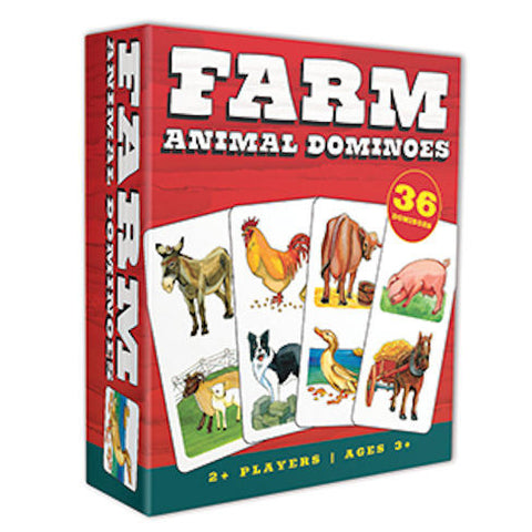 Farm Animal Dominoes Game - EducationalLearningGames.com