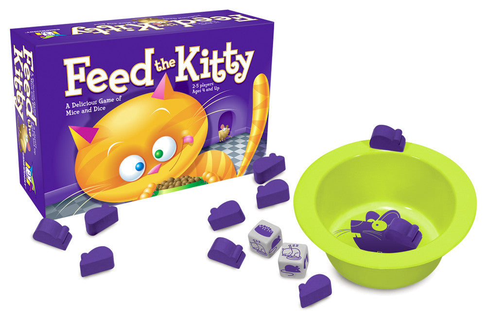Feed the Kitty Game - EducationalLearningGames.com