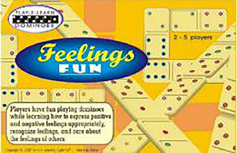 Feeling Fun Dominoes Game - EducationalLearningGames.com