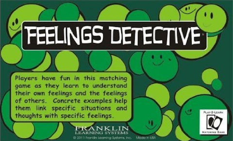 Feelings Detective Game - EducationalLearningGames.com
