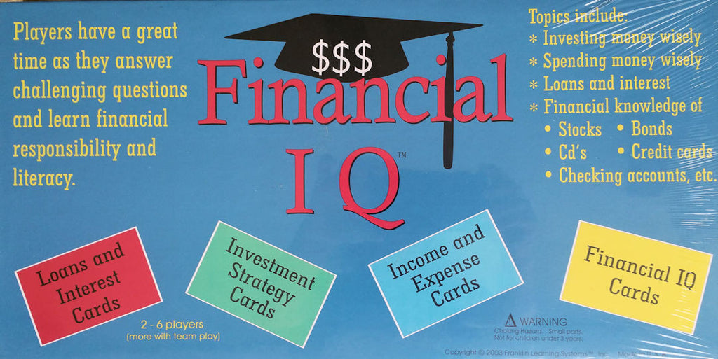 Financial IQ Game - EducationalLearningGames.com