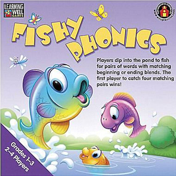Fishy Phonics Game Level 2, Grades 1 - 3 EducationalLearningGames.com