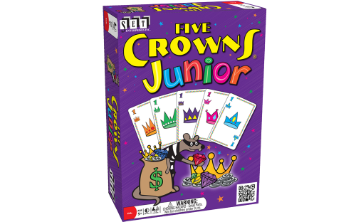 Five Crowns Junior Card Game EducationalLearningGames.com