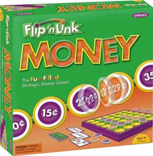Flip n Link Money Game - EducationalLearningGames.com