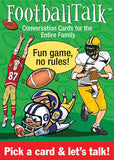 FootballTalk Conversation Cards - EducationalLearningGames.com