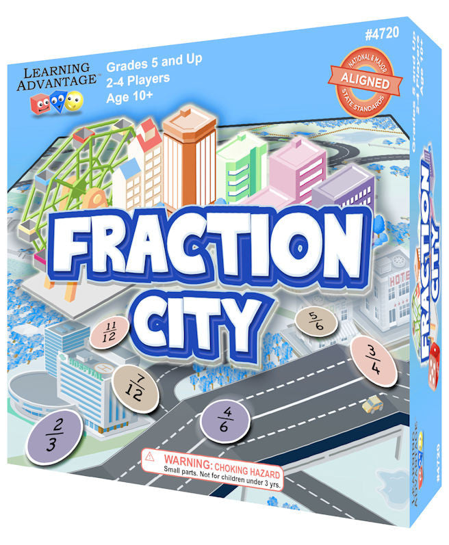 Fraction City Game