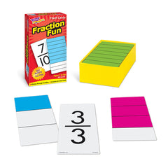 Fraction Fun Skill Drill Flash Cards - EducationalLearningGames.com