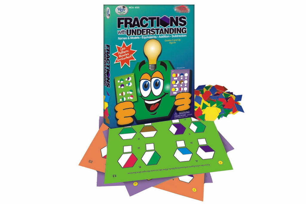 Fractions with Understanding Game Ages 8+