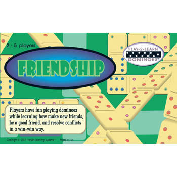 Friendship Dominoes Game - EducationalLearningGames.com