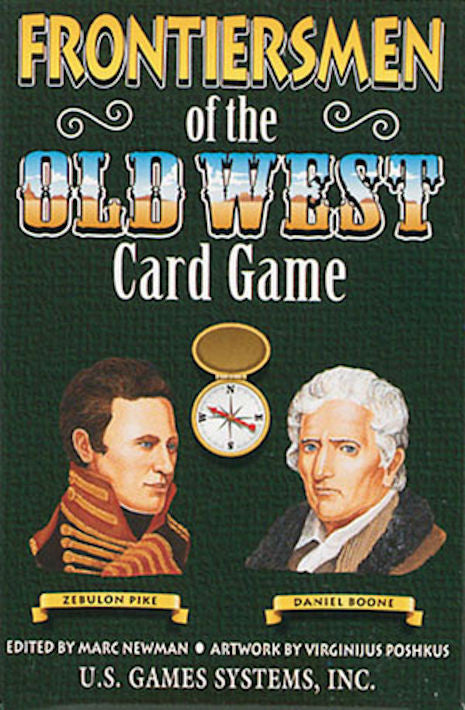 Frontiersmen of the Old West Playing Card Game - EducationalLearningGames.com