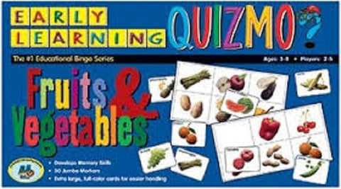 Fruits & Vegetables Quizmo Game