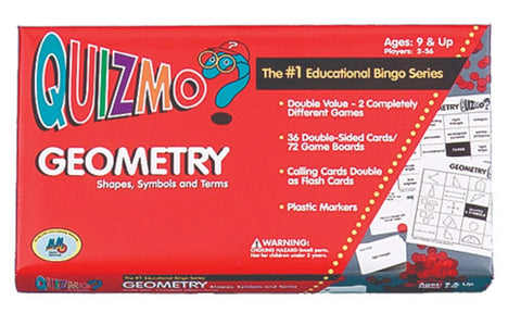 Geometry Quizmo Shapes, Symbols, and Terms