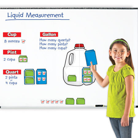 Giant Magnetic, Gallon Set - EducationalLearningGames.com