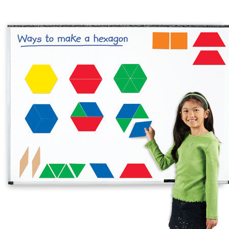 Giant Magnetic Pattern Blocks - EducationalLearningGames.com