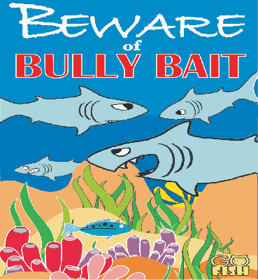 Go Fish Beware of Bully Bait Card Game - EducationalLearningGames.com