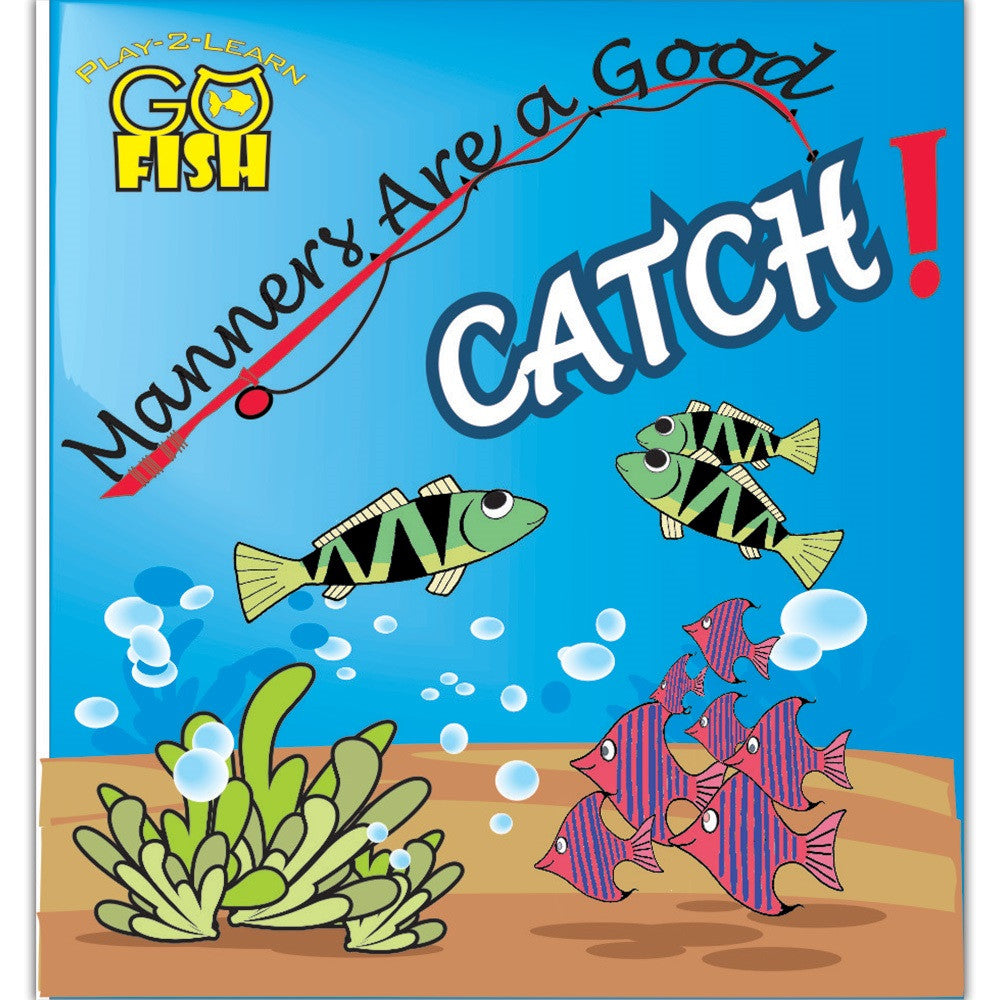 Play-2-Learn Go Fish: Manners Are a Good Catch Game - EducationalLearningGames.com