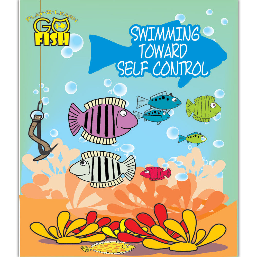 Go Fish Swimming Toward Self Control Game - EducationalLearningGames.com