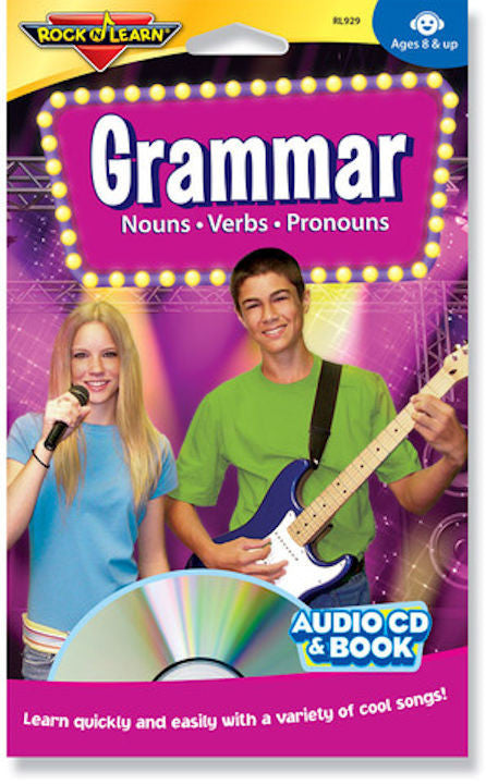 Grammar Audio CD and Book