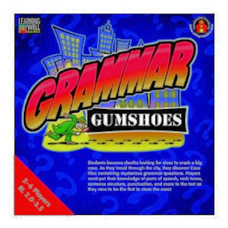 Grammar Gumshoes Game, Red Level EducationalLearningGames.com
