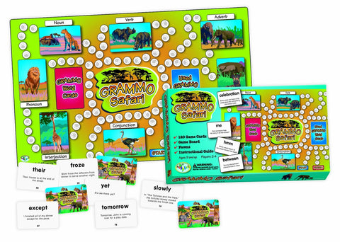 Grammo Safari Game - EducationalLearningGames.com
