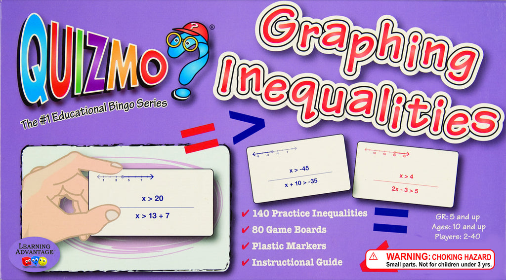 Graphing Inequalities Quizmo Game