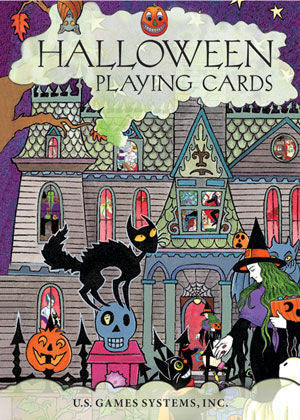 Halloween Playing Cards - EducationalLearningGames.com