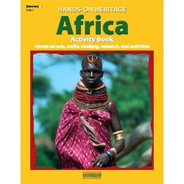 Hands-On Heritage Activity Book, Africa - EducationalLearningGames.com