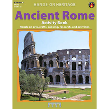 Hands-On Heritage Activity Book, Ancient Rome Workbook - EducationalLearningGames.com