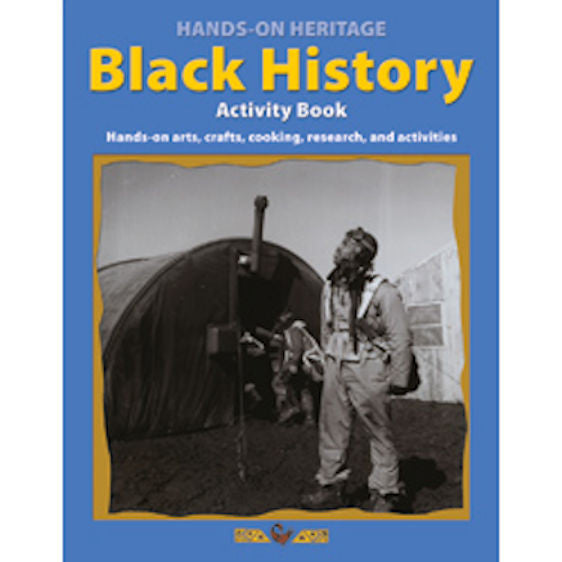Hands-On Heritage Activity Book, Black History EducationalLearningGames.com