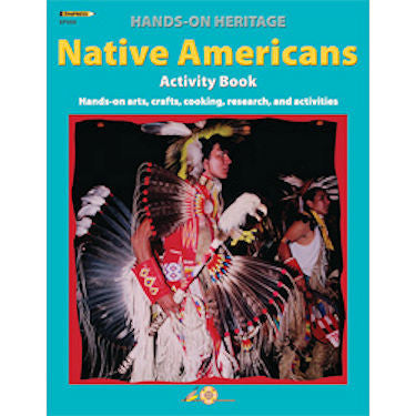 Hands-On Heritage Activity Book, Native Americans Workbook - EducationalLearningGames.com